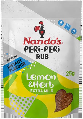 Lemon & Herb<br> PERi-PERi Rub