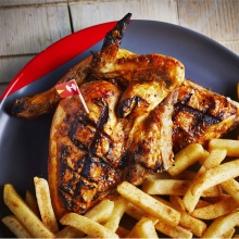 Half PERi-PERi Chicken and PERi-Salted Chips