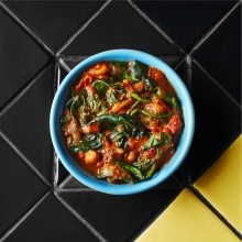 Saucy Spinach